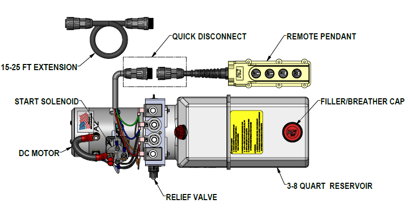Installation Instructions: 12 VDC Dual Double-Acting – KTI ... on fireplace shut off valve diagram, 300 cummins engine diagram, isx cummins wire diagram, 12 valve cummins engine diagram,